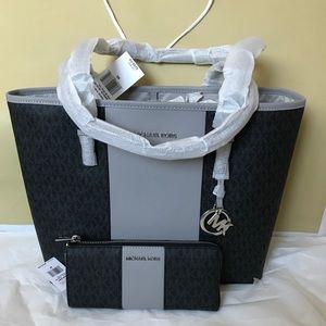 💦🌻mk tote set🌻carryall shoulder bag & wallet